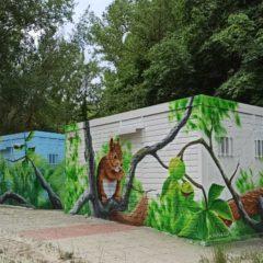 Fauna y naturaleza en los murales de Fuente Prior