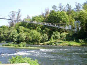 Puente colgante O Xirimbao Teo