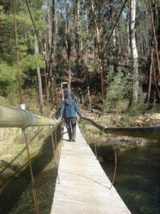 Puente colgante Acevedo de Oia
