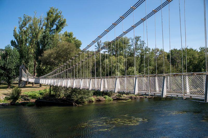 Puente colgante Leiro Puentes colgantes Galicia