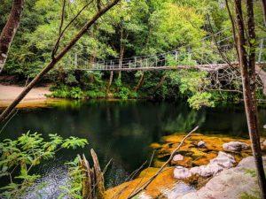 Puente colgante Soutomaior