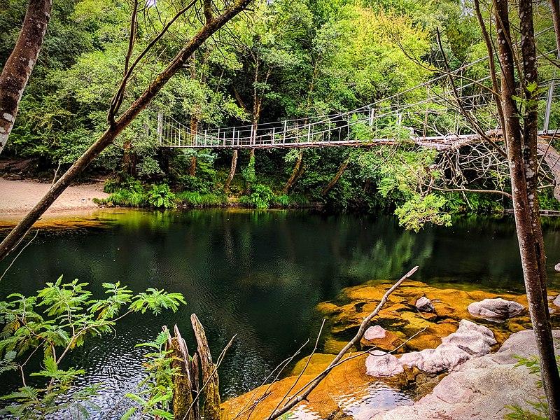 Puente colgante Soutomaior Puentes colgantes Galicia