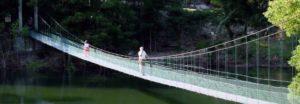 Puente colgante del río Tambre