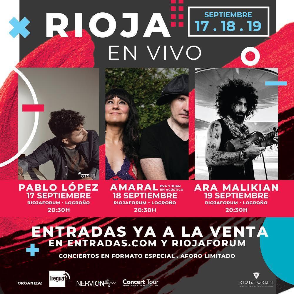 Rioja en Vivo, festival de música