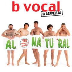 B Vocal. Al natural, sin instrumentos añadidos en Auditorio del Carmen en Navarra