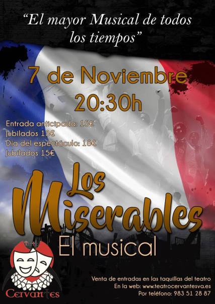 El Musical de los Musicales `Los Miserables´en el Teatro Cervantes