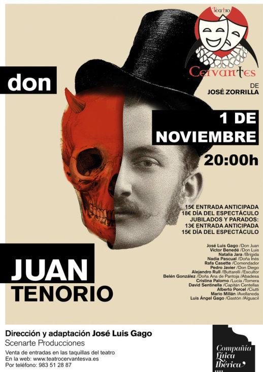 `Don Juan Tenorio´en el Teatro Cervantes