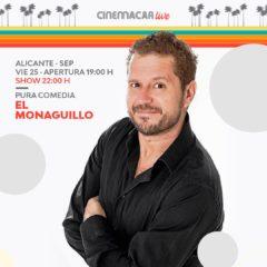 El Monaguillo vuelve con 'Solo lo veo yo?', en Cinemacar Alicante
