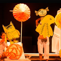 El monstre de colors en Teatre Goya en Barcelona
