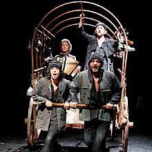 Madre Coraje (Atalaya) en Teatre Romea en Barcelona