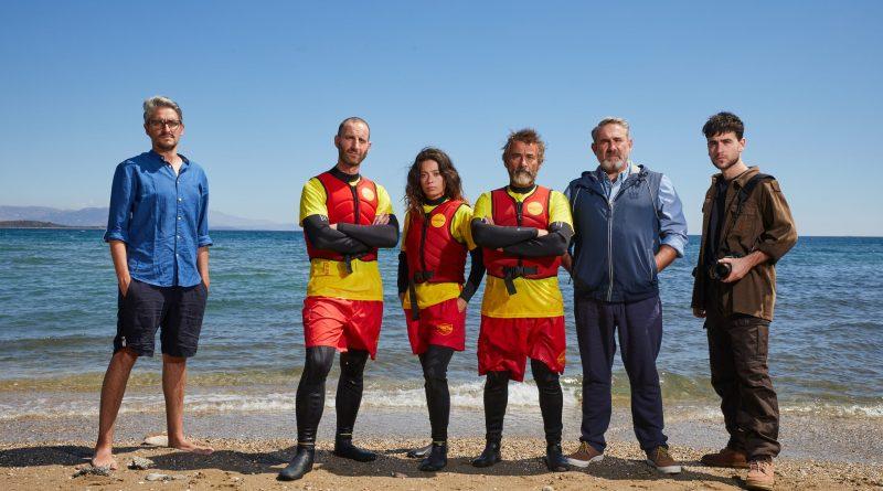 Primera foto del rodaje de 'Mediterráneo'