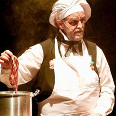 Rossini en la cocina en Casa de Cultura Asunción Balaguer en Madrid