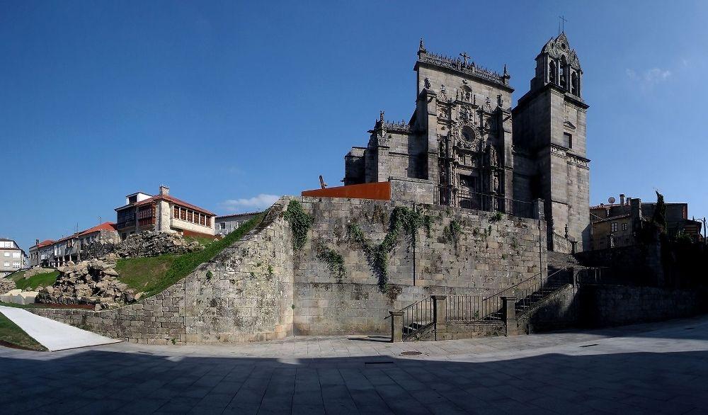 Monumentos destacados Pontevedra Basílica de Santa María la Mayor