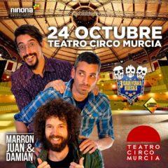 Cuatro nuevos espectáculos de humor, circo, teatro y música en el Teatro Circo Murcia