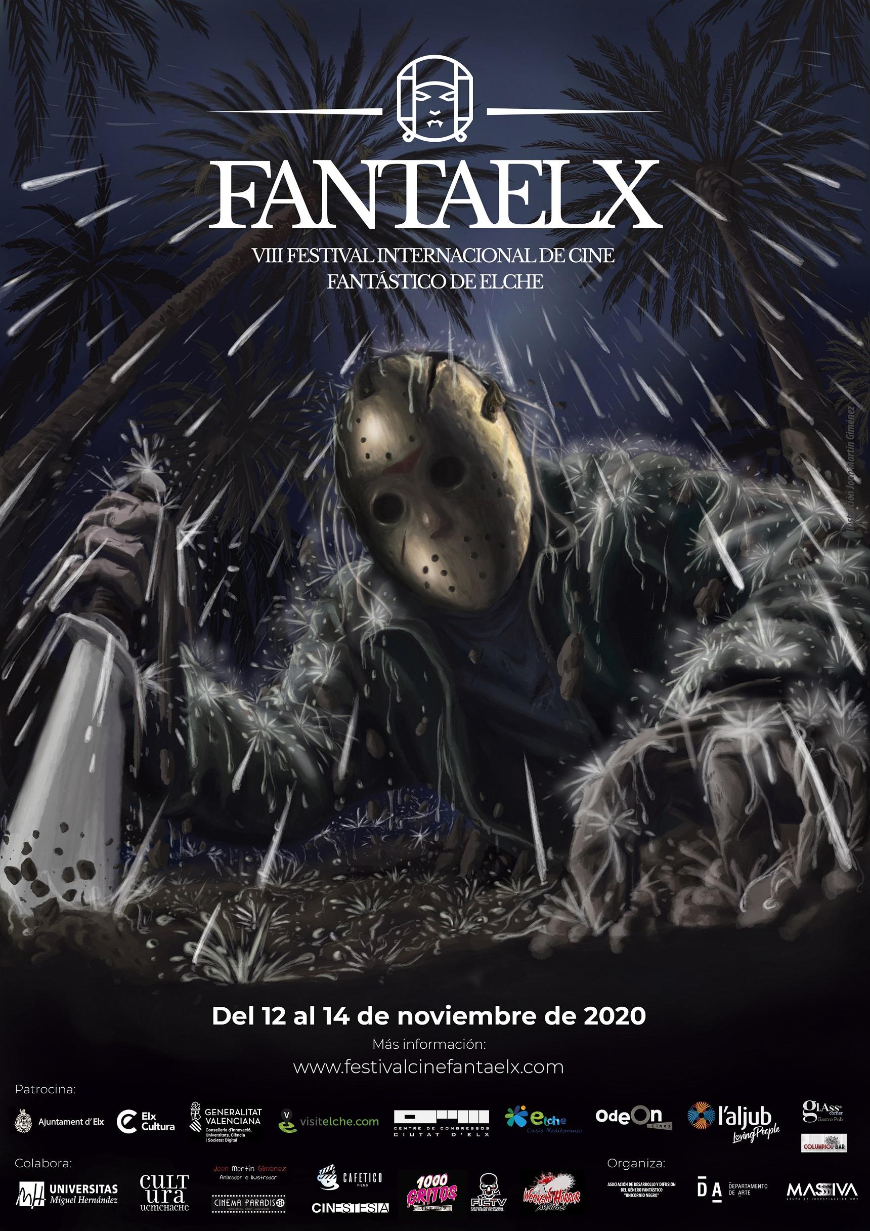 FANTAELX 2020 presenta su cartel, que homenajea el 40º aniversario de 'Viernes 13'