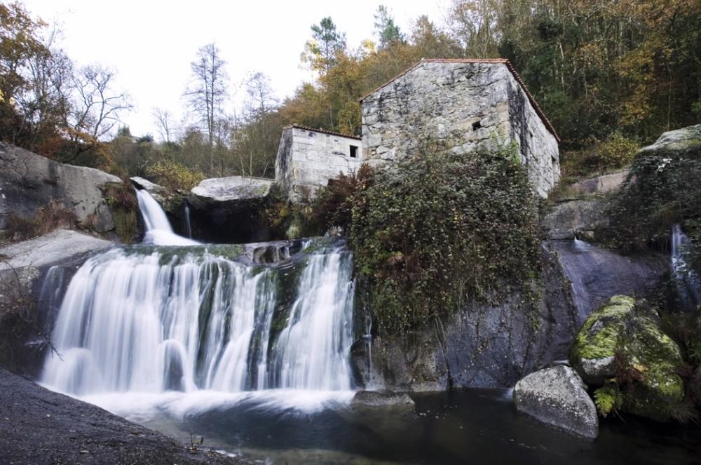 Cascadas Río Barosa Pontevedra