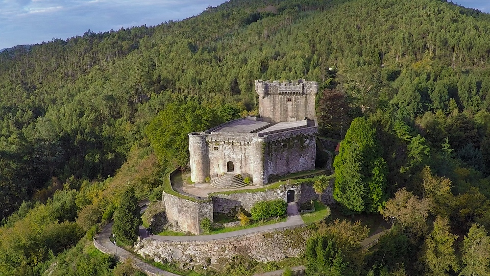 Castillo de Sobroso Pontevedra