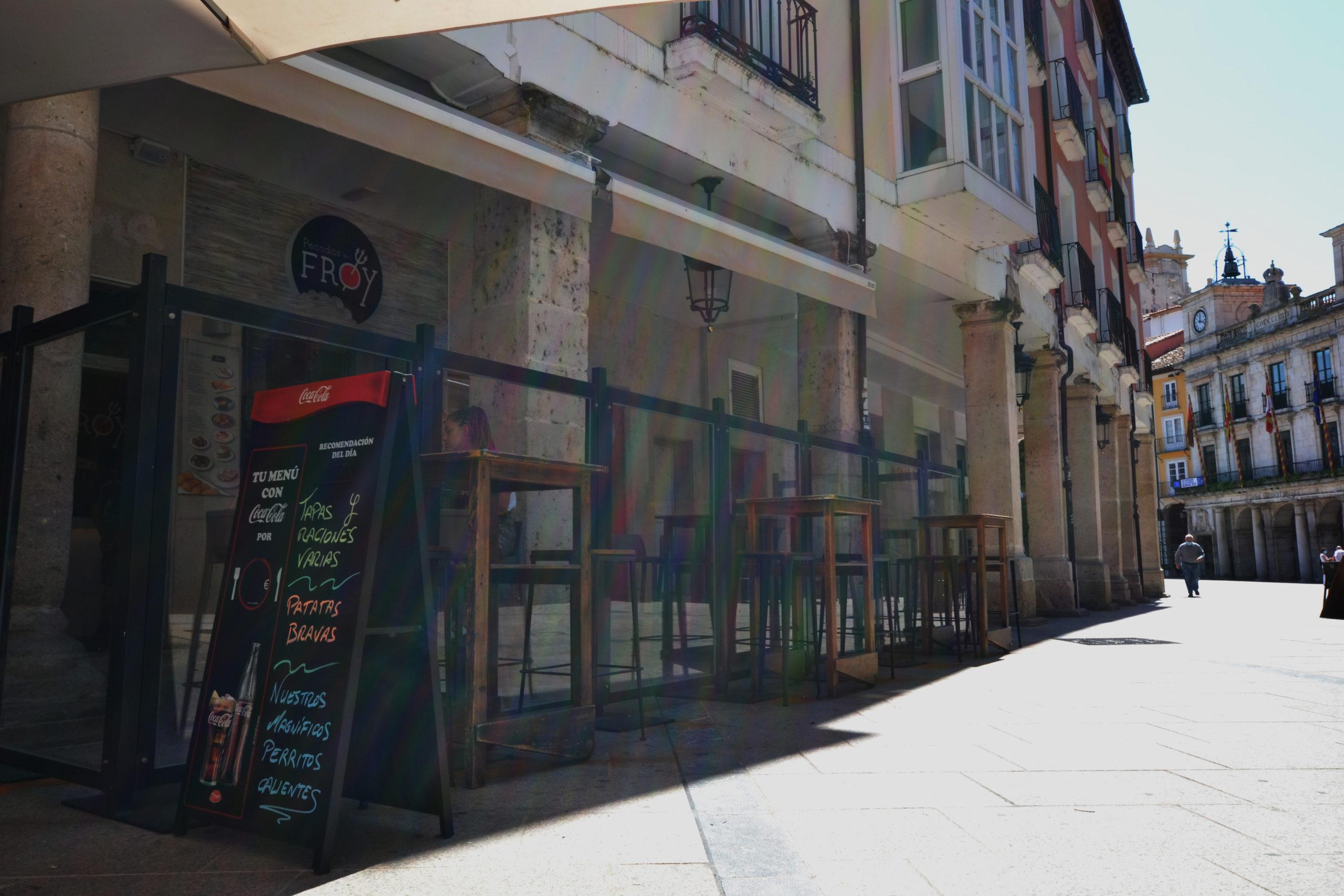 La hostelería se verá afectada gravemente por el confinamiento de Burgos