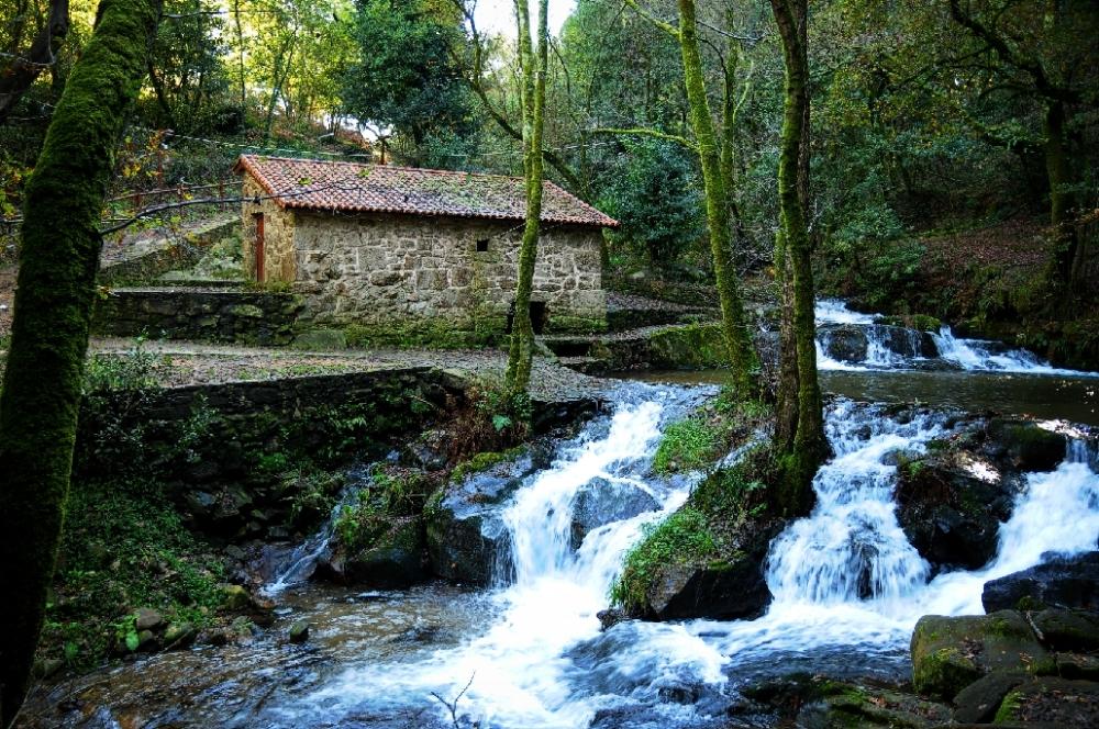 Rutas BTT Rías Baixas Molinos de Armenteira