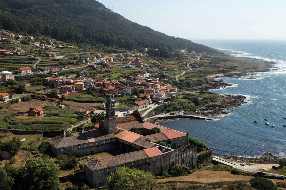 Santa María de Oia Pontevedra Pueblos bonitos Pontevedra