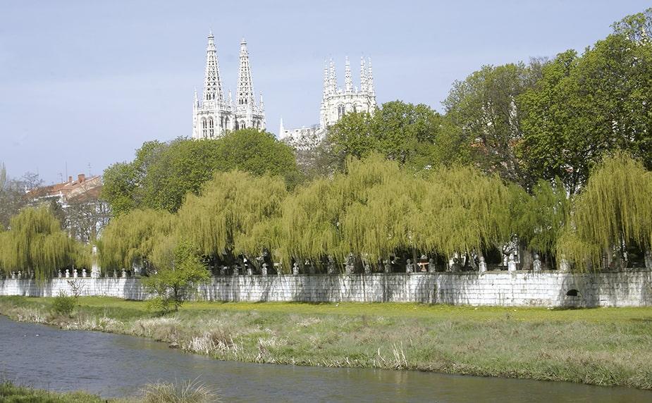 Que ver en Burgos. Espolon y rio