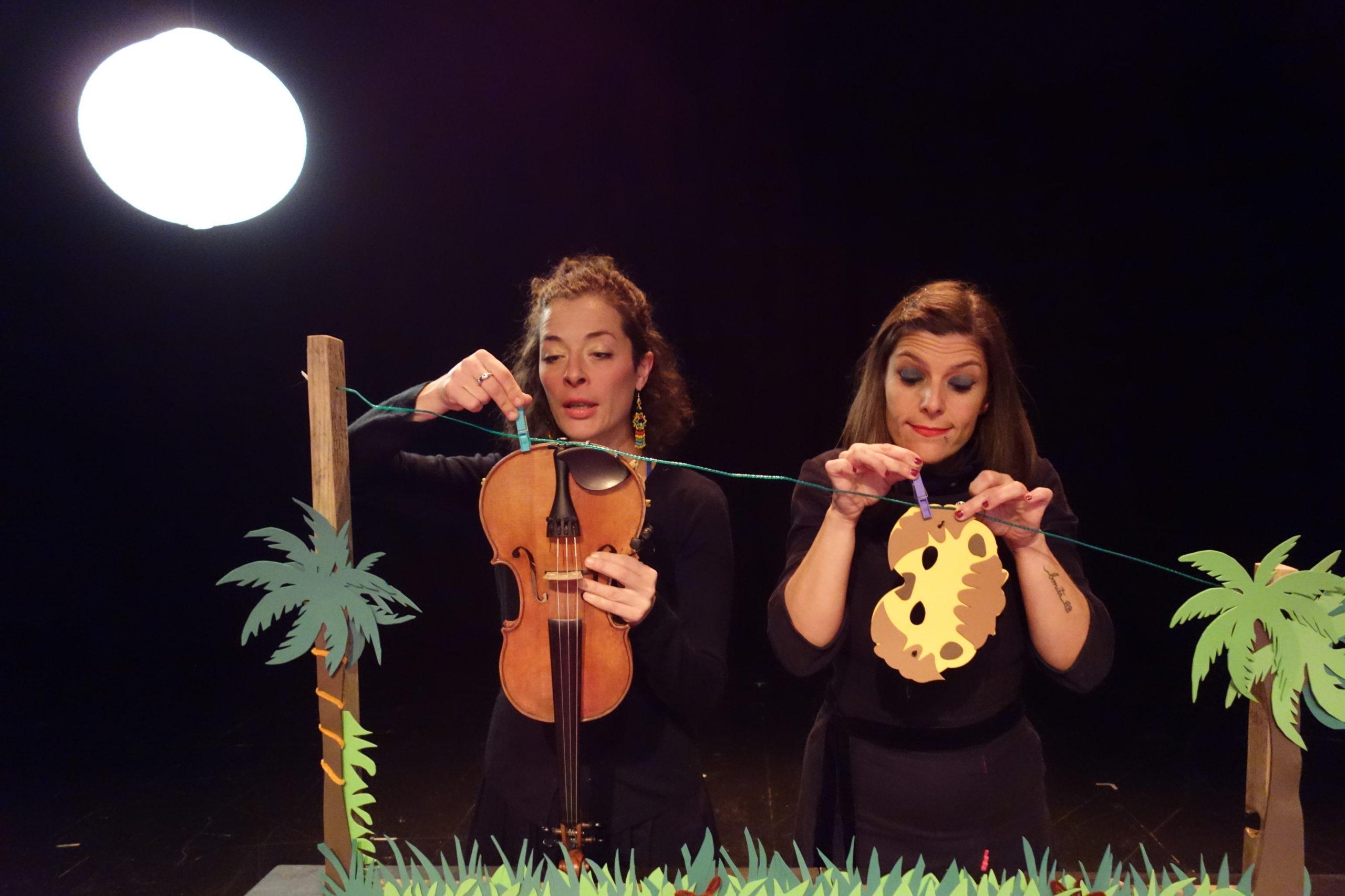 Teatro: 'Lunáticas en la selva'. Margarito y Cía y Blanca Altable en el MEH