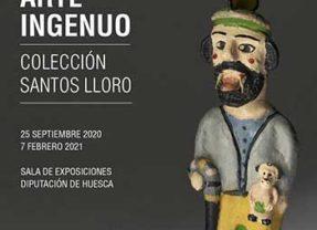 Arte ingenuo. Colección Santos Lloro en Sala de la Diputación de Huesca