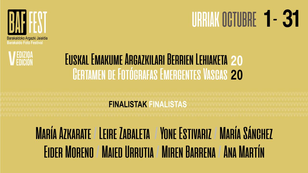 Visitas guiadas a 5 exposiciones del festival de fotografía BAFFEST de Barakaldo