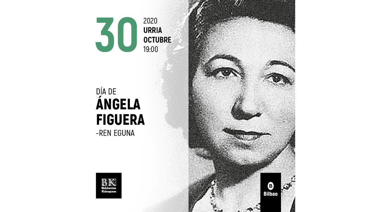 Bidebarrieta Kulturgunea celebra el 118º aniversario del nacimiento de Ángela Figuera Aymerich
