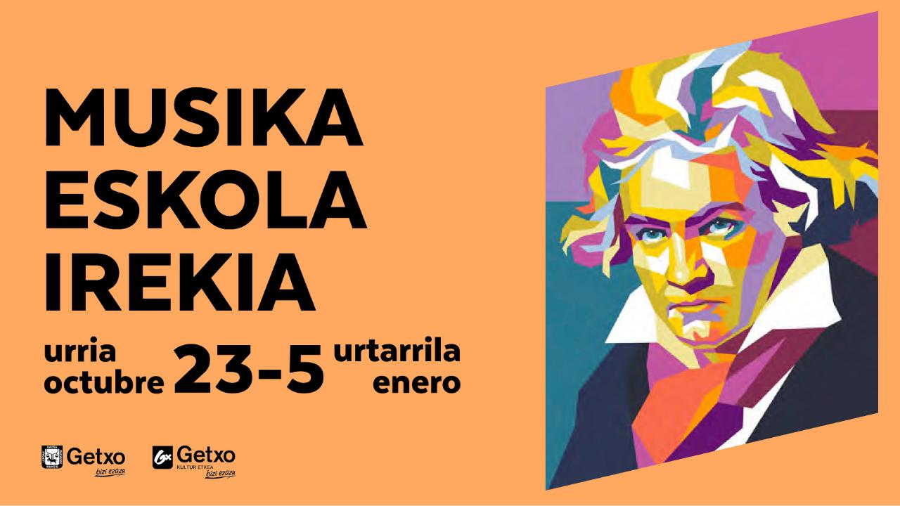 El ciclo «Musika Eskola Irekia» de Getxo acercará al público la vida y obra de Beethoven