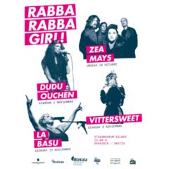 Vuelve el segundo ciclo del festival Rabba Rabba Girl!