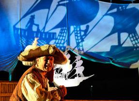 El tesoro de Barracuda en Teatro León Felipe en Salamanca