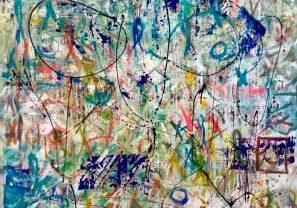 Kelly Fischer. Street Art en Cuevas de Hércules en Toledo