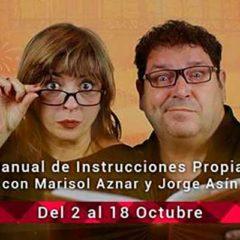 Los oregoneses Marisol Aznar y Jorge Asín, Manual de Instrucciones propias