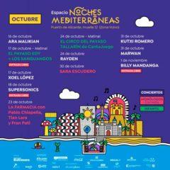 Concierto de Noches Mediterráneas 2020 en Puerto de Alicante