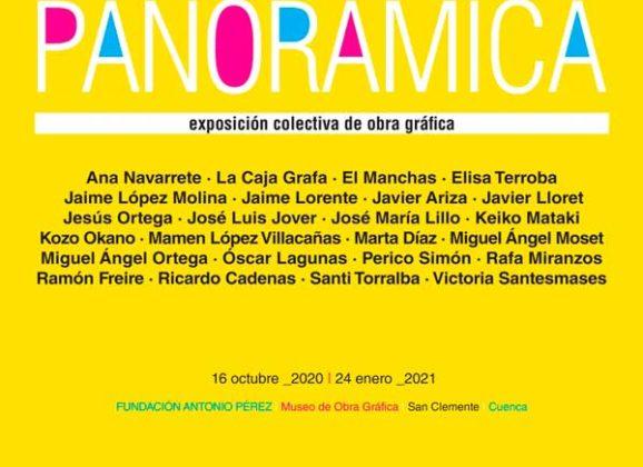 Panorámica en Museo de Obra Gráfica en Cuenca