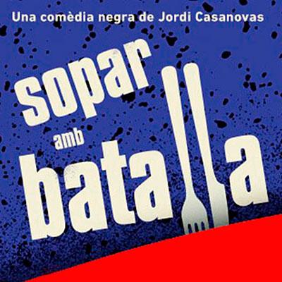 Sopar amb batalla en Gran Teatre de la Passió en Lleida