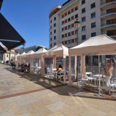 Los bares de Burgos contarán con terrazas cubiertas este invierno
