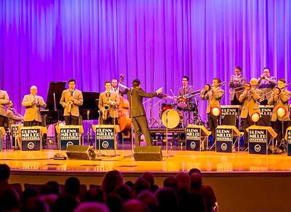 Concierto de The Glenn Miller Orchestra en Palacio Kursaal en Gipuzkoa