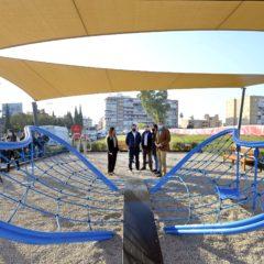 Una nueva área de juegos infantiles para los vecinos del sur de Murcia