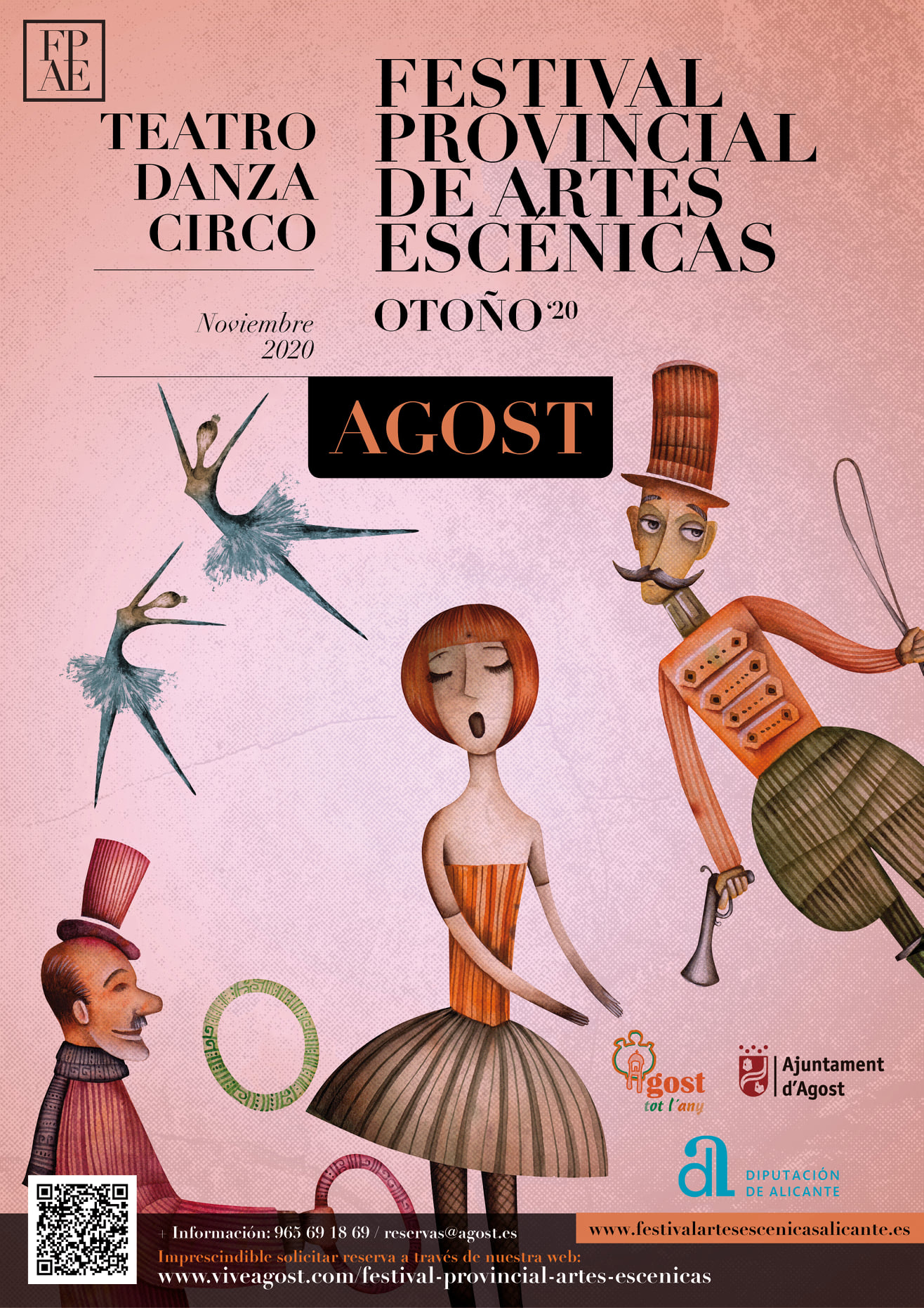 I Festival Provincial de Artes Escénicas Otoño 2020 en Agost