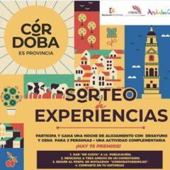 Sorteo de 150 experiencias turísticas por la provincia de Córdoba