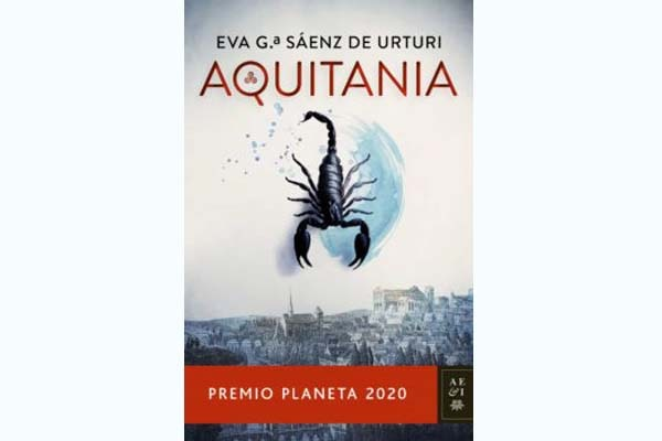 Portada de Aquitania Premio Planeta 2020