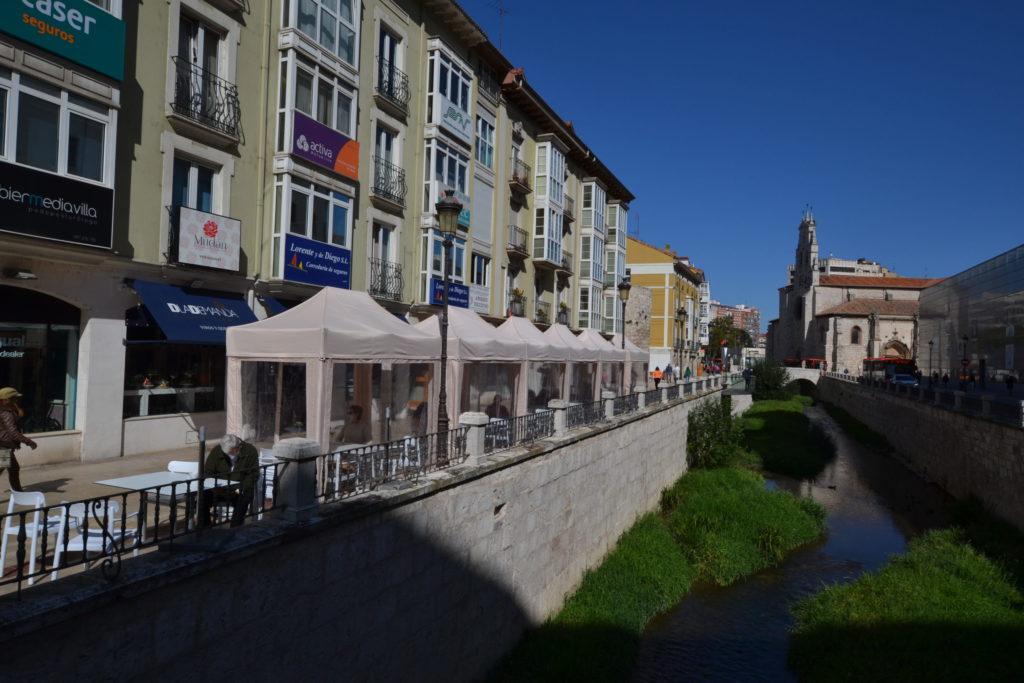 Vista comercios de Burgos