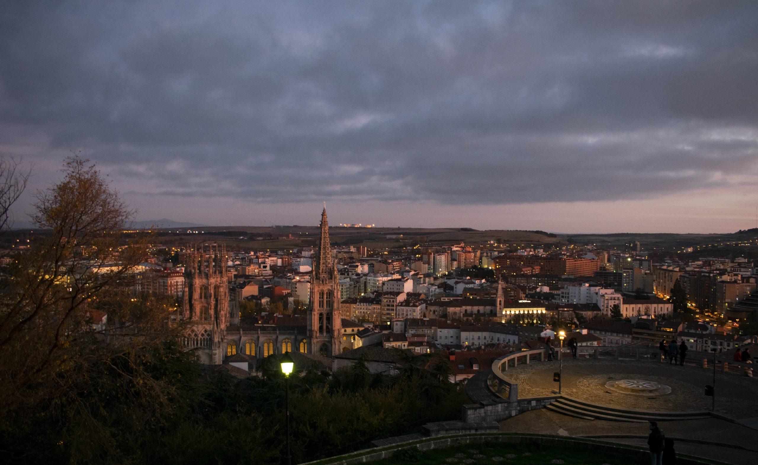 Mirador del castillo. Planes en Burgos en tiempos de Covid