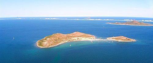 Isla Perdiguera en Murcia