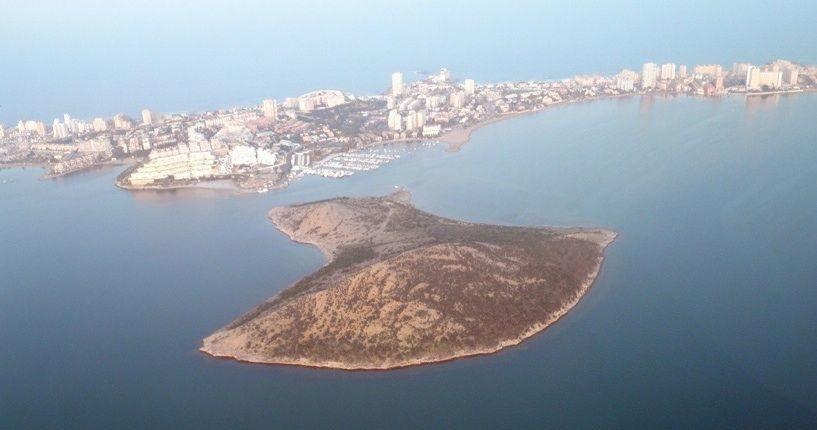 Isla del Ciervo en Murcia