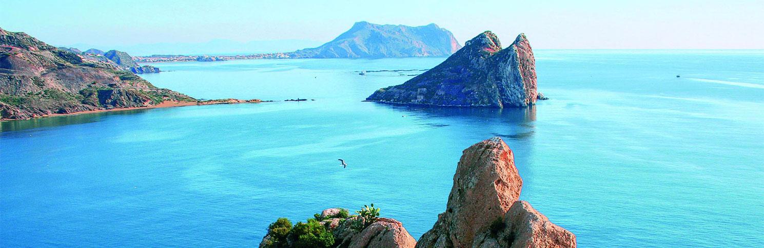 Isla del Fraile en Murcia