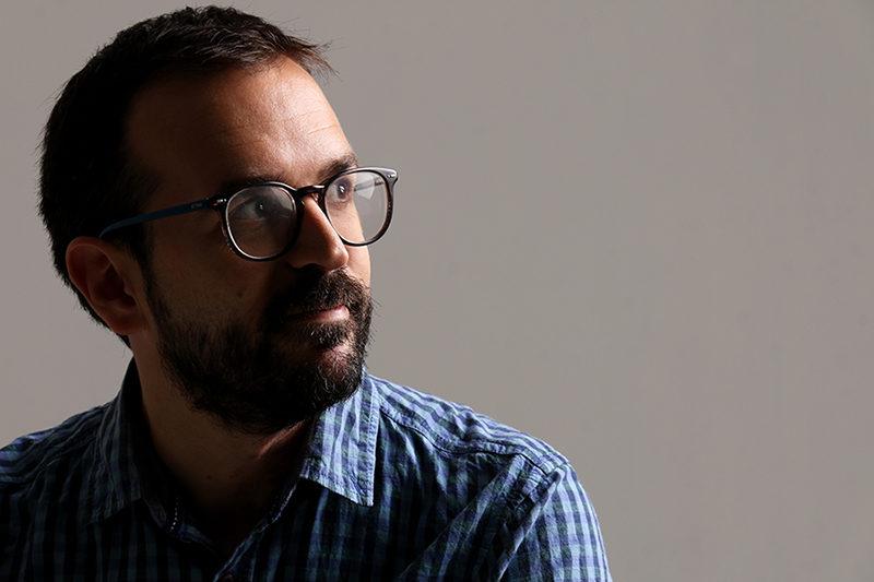 Retrato de Javier López Menacho