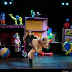 Espectáculo Infantil LA CAJA DE LOS JUGUETES en el Teatro Villa de Molina
